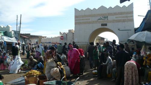 Harar - marché