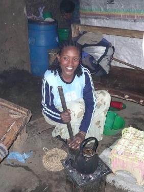 Cérémonie café amhara