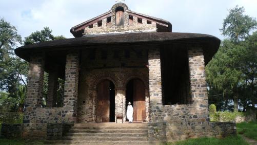 Gondar - église de Debré Birhan Sélassié